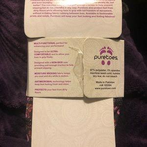 puretoes Accessories - Puretoes - Floral Yoga socks new nip S 5-7